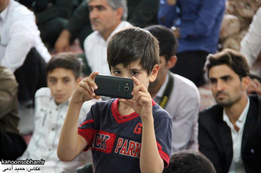 تصاویر مراسم دهه کرامت و تجلیل از خبرنگاران در رومشکان (19)