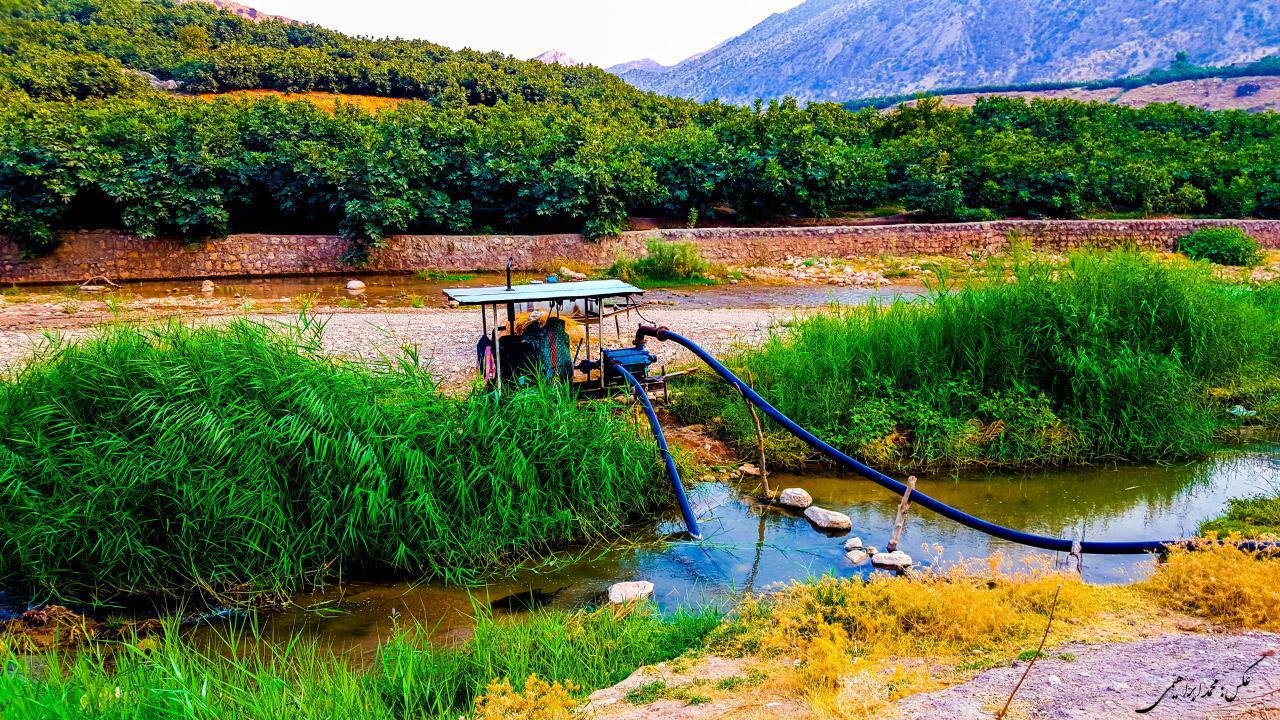رودخانه مادیان رود کوهدشت لرستان در معرض نابودی کامل+تصاویر (1)