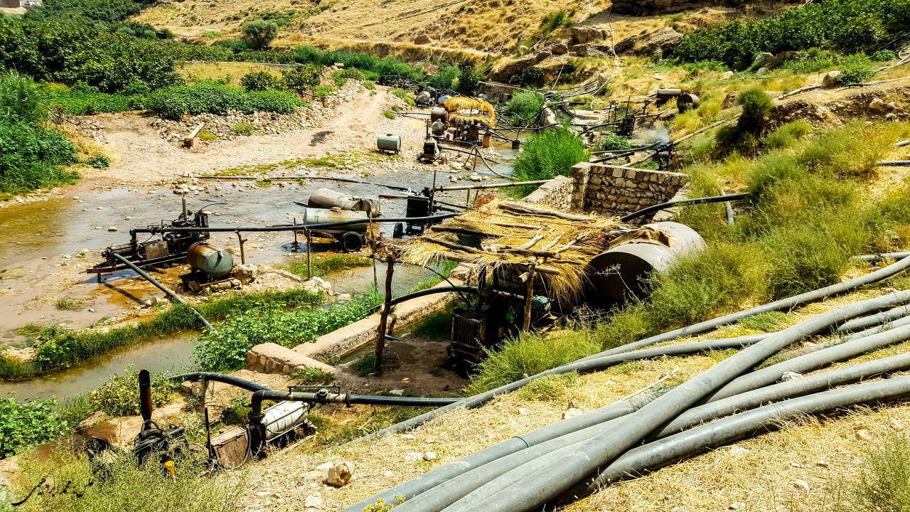 رودخانه مادیان رود کوهدشت لرستان در معرض نابودی کامل+تصاویر (3)
