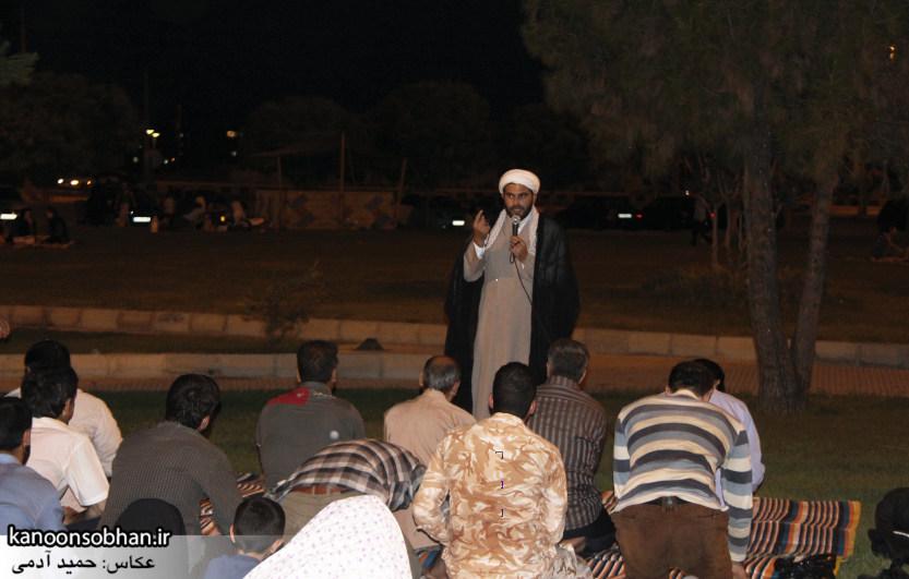 نماز جماعت پارک کشاورز کوهدشت (1)