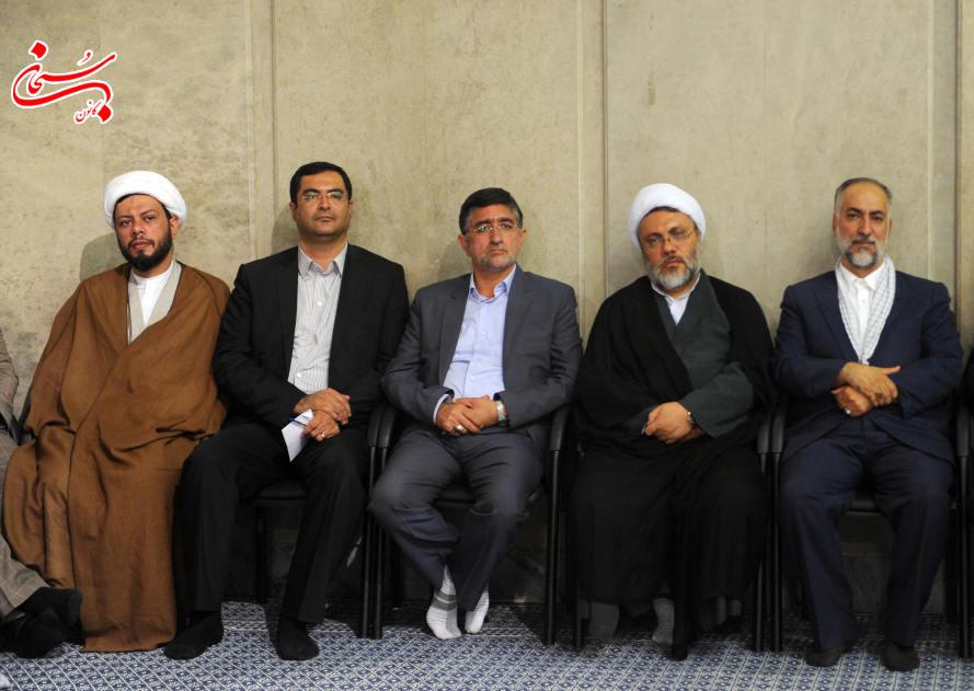 چهره های لرستانی در دیدار با مقام معظم رهبری (1)