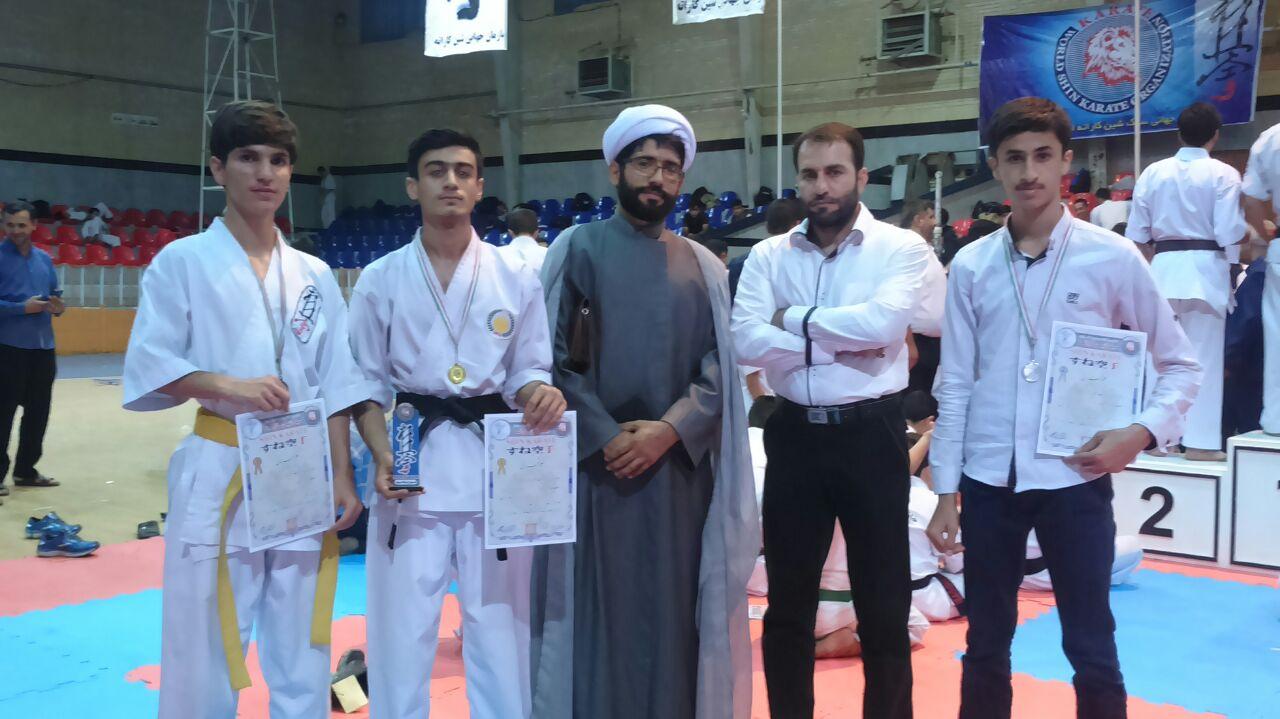 کسب مدال قهرمانی،توسط شاگردان مربی کوهدشتی استان قم