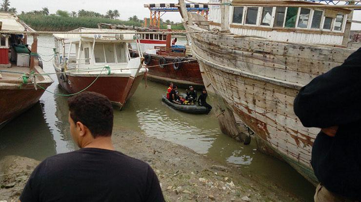 غرق شدن مامور پلیس