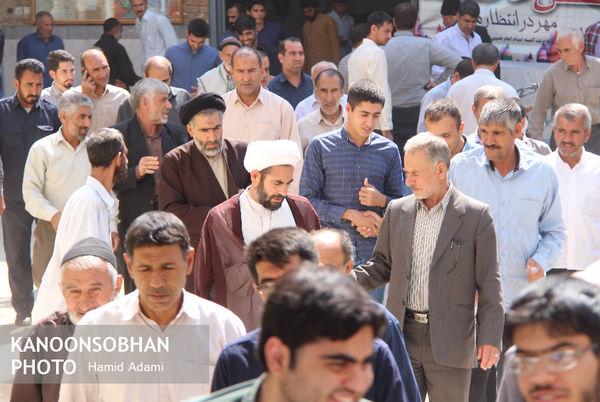 تصاویر نماز جمعه ۲۴ شهریور ۹۶ کوهدشت